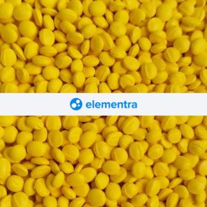 Желтый супер концентрат красителя для полимеров белый